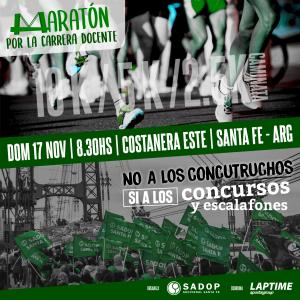 Lee más sobre el artículo Se viene la Maratón por la Carrera Docente